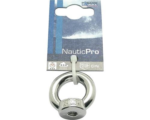 Écrou à anneau M10 acier inoxydable DIN 582