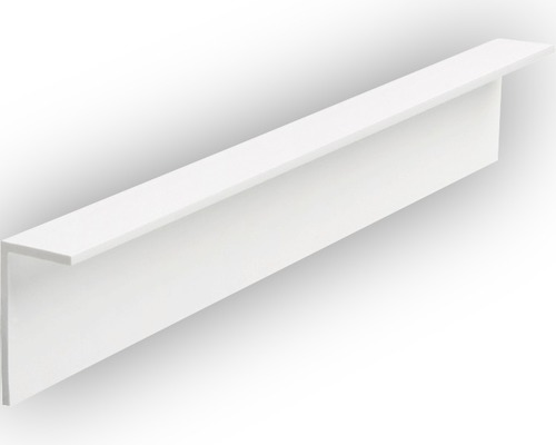 baguette d 39 angle pvc 20x40x1500 mm blanc hornbach luxembourg. Black Bedroom Furniture Sets. Home Design Ideas