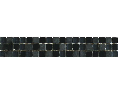 Bordure Peru noire-grise 30x5 cm