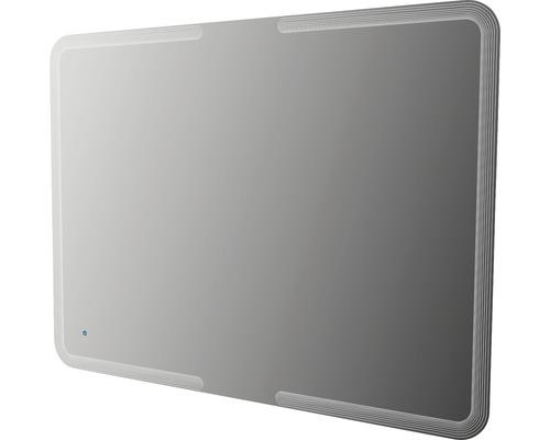 LED-Spiegel 120x90 cm Touch-Ein/Aus Funktion IP 44 (fremdkörper- und spritzwassergeschützt)