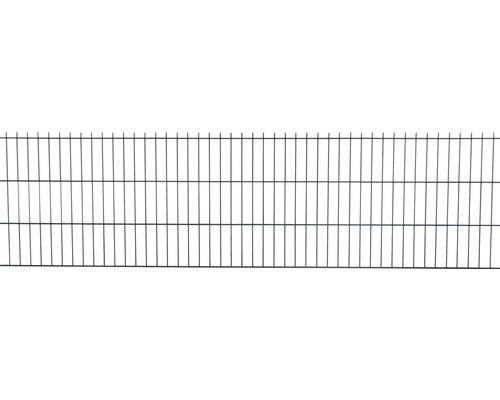 Clôture à grillage double 251x63cm, vert