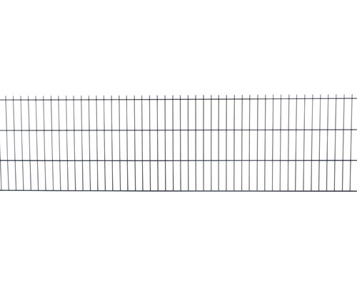 Doppelstabmatte 6/5/6 251x63 cm, anthrazit