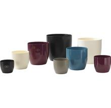 Pot de fleurs Soendgen Basel Fashion, céramique, Ø 13 H 12 cm, gris clair-thumb-2