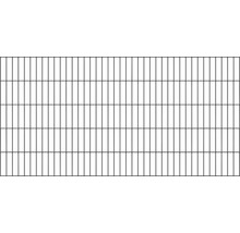Doppelstabmatte 6/5/6 200x80 cm, anthrazit