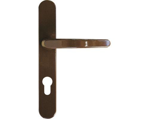 Poignée/poignée COMPACT 72mm alu marron