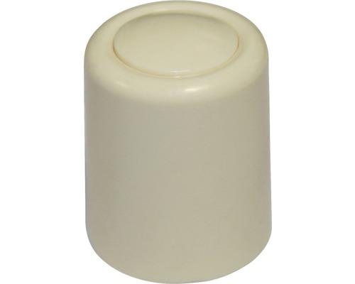 Butoir de porte ivoire Ø 30x35 mm