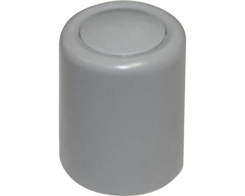 Butoir de porte gris Ø 30x35 mm