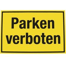 Panneau d''interdiction Interdiction de stationner 200x300 mm-thumb-0