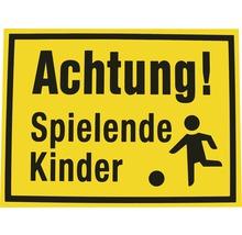 Panneau «Attention aux enfants qui jouent» 300x400 mm-thumb-0