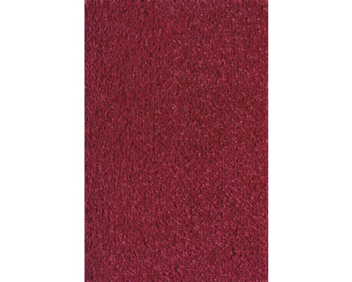Teppichboden Velours Ines rot 400 cm breit (Meterware)