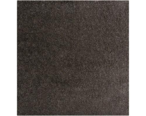 Teppichboden Velours Ines grau braun 400 cm breit (Meterware)