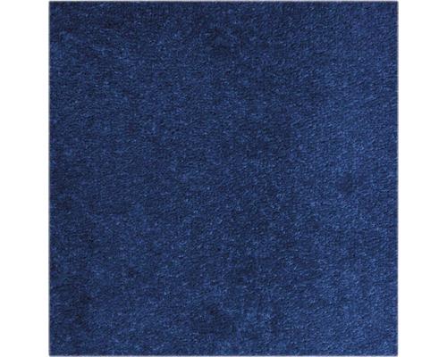 Moquette velours Ines bleu largeur 400 cm (marchandise au mètre)