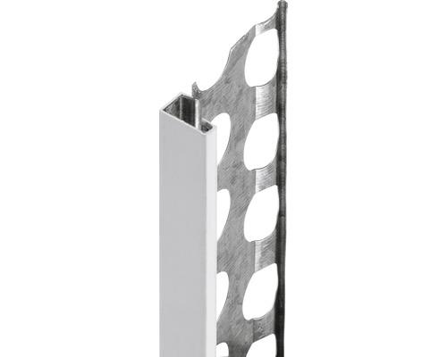 Profilé de finition à crépir 15 mm; longueur 2.50m