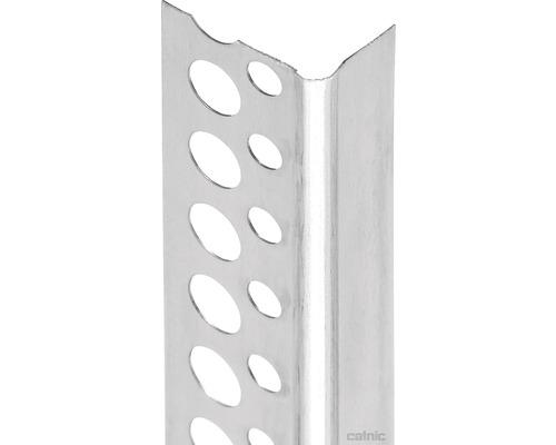 Profilé de finition PROTEKTOR Göppinger en aluminium pour plaques de plâtre 2500 mm