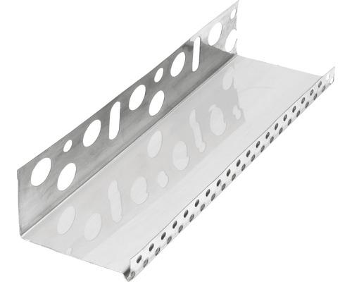 Profilé de socle acier inoxydable 103mm longueur:2.50m