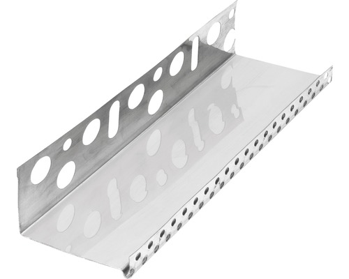 Profilé de socle acier inoxydable 63mm longueur:2.50m