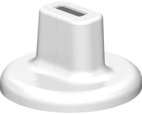 Design Fußabdeckung Super Standfix Plus weiß
