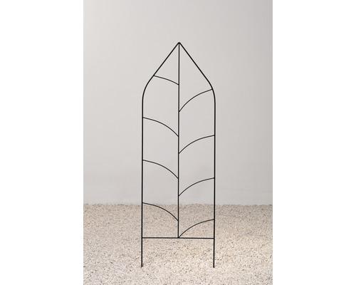 Treillis dé décoration en métal Alexa 29x150 cm noir