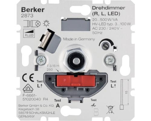 Insert de variateur 60-600 watts Berker 286010