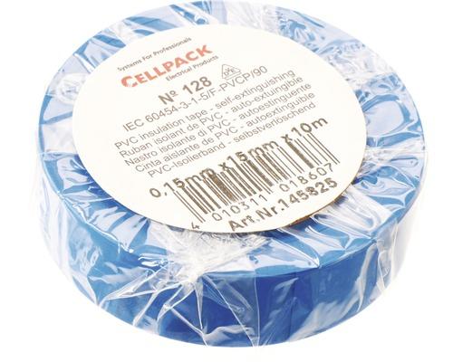 Ruban isolant PVC bleu l 15 mm x L 10 m Cellpack