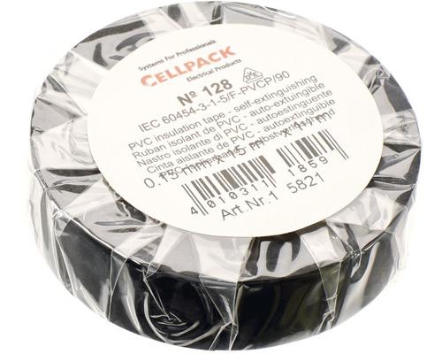 Ruban isolant PVC noir 15 mm x L 10 m Cellpack