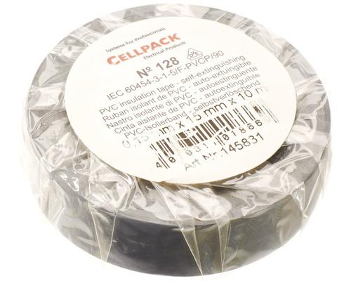 Ruban isolant PVC gris 15 mm x L 10 m Cellpack