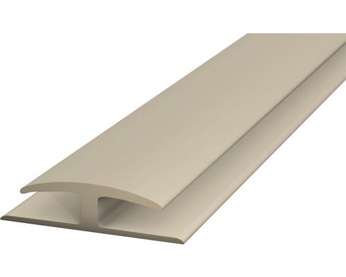 h profil edelstahl h profil aus aluminium f r den glasbau. Black Bedroom Furniture Sets. Home Design Ideas