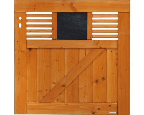 Portail simple Latina 90x90 cm, douglasie