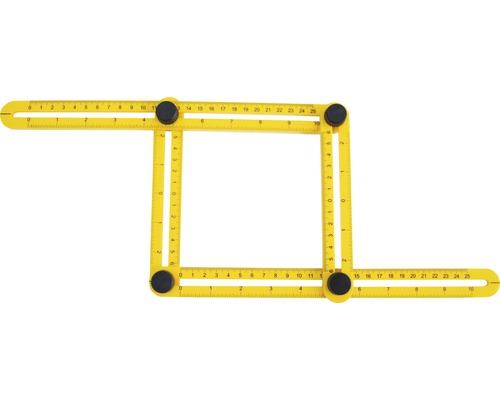Anreißschablone 2x25cm und 2x12cm