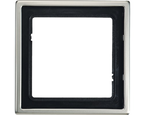 Cadre simple Jung LS990 ES 2981 acier inoxydable
