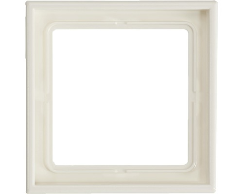Plaque simple Jung LS990/LS-Design LS 981 WW blanc alpin