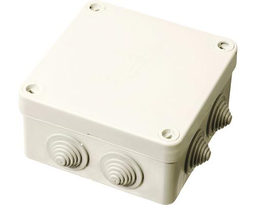 Boîte de dérivation pour pièce humide Spelsberg HP 100 L 113 x l 113 x P 58mm gris