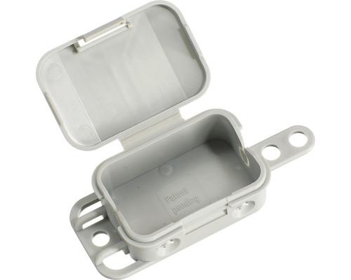 Boîte de raccordement Spelsberg Q4 L 40 x l 56 x P 23mm gris