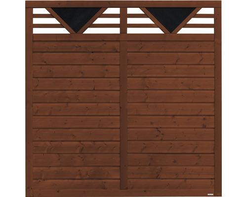 Panneau en bois Andria 180x180 cm, brun