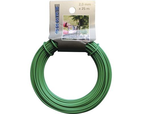 Bindedraht grün Ø 2 mm, 25 m