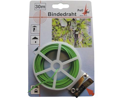 Bindedraht grün 30 m