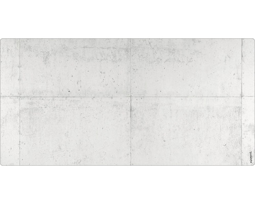 Panneau mural salle de bains mySPOTTI aqua Mur en béton 90x45 cm