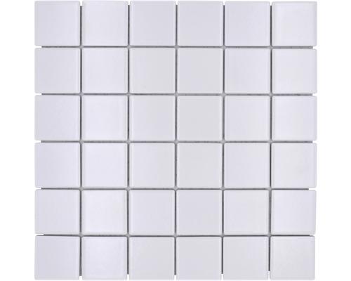Mosaïque en céramique CD 111 30,5x30,5 cm blanche