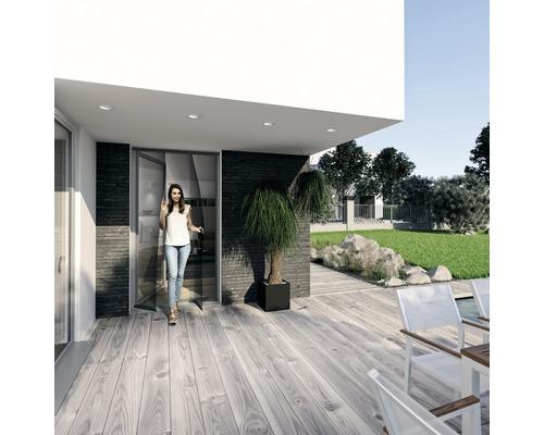 Moustiquaire rideau de porte Comfort PLUS sans perçage aluminium 95x220 cm
