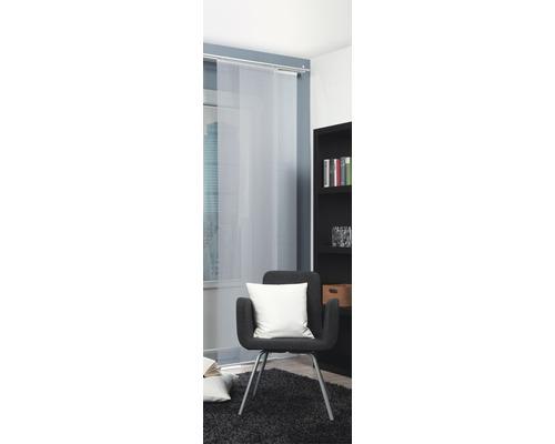 Schiebegardine Rom Voile weiß 60x245 cm
