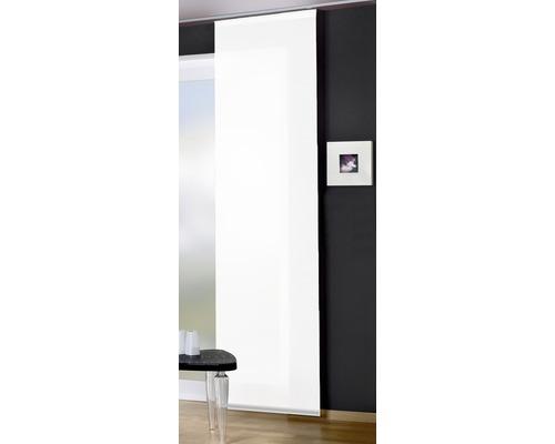 Schiebegardine Rom Deko weiß 60x245 cm