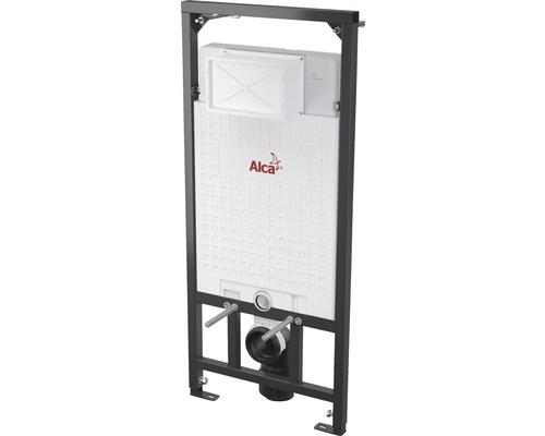Bâti-support Komfort pour WCs suspendus H : 1200 mm avec interface pour ventilation