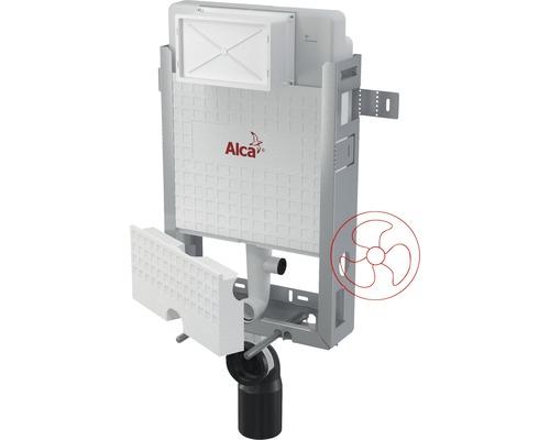 Réservoir de chasse d''eau encastré Komfort H : 1000 mm pour WCs suspendus avec interface pour ventilation
