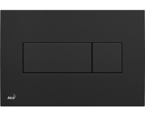 Plaque d''actionnement Komfort M378 noir