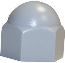 Cache pour vis six pans 10 mm gris 50 unités-thumb-0