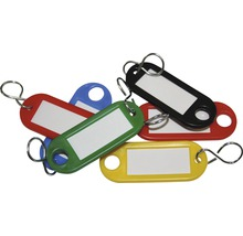 Set de 5 porte-clés multicolores-thumb-0