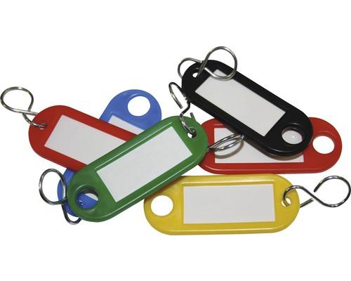 Set de 5 porte-clés multicolores