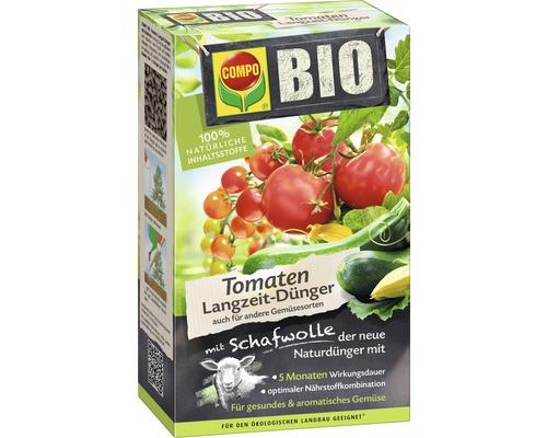 Engrais pour tomates bio longue durée avec laine de mouton 100% ingrédients naturels 750 g