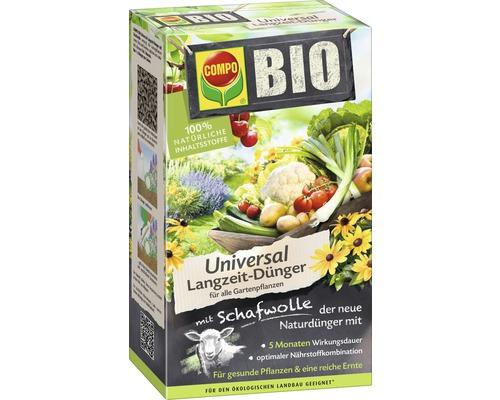 Engrais universel Bio Compo longue durée avec laine de mouton 100% ingrédients naturels 2 kg