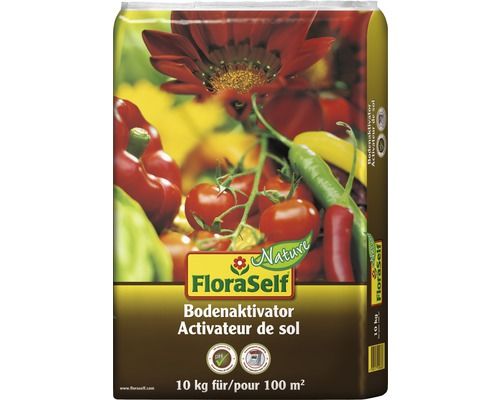 Activateur de sol FloraSelf Nature 10 kg 100 m²